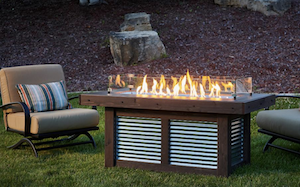 The Outdoor GreatRoom Company Debuts Denali Brew Gas Fire Pit Table