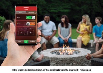 Hearth Products Controls Launches New and Improved Mobile Bluetooth® App