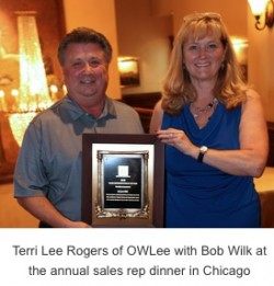 OW Lee Announces Sales Rep of the Year for 2016