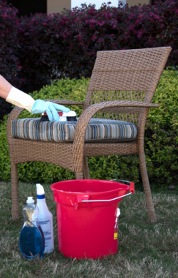 Spring Forward with Fresh, Clean Outdoor Furniture Fabrics