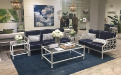 Barclay Butera Outdoor Collection for CASTELLE Draws Designers and Show Spotters During High Point M