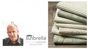 Richard Frinier Wins Platinum Adex Award for Seaside Collection of Sunbrella® Fabrics