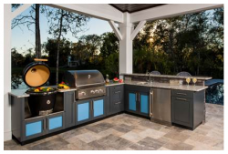Cabinetry from Danver Stainless Outdoor Kitchens