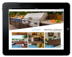 Brown Jordan Outdoor Kitchens Launches New Tablet App Designed to Enhance Customer Experience
