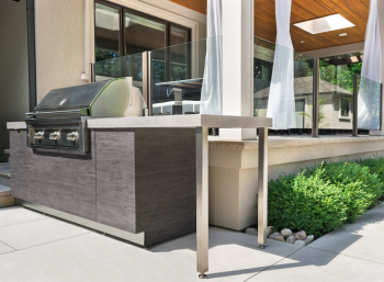 Momentum Builds for Garden Living Outdoor Kitchens