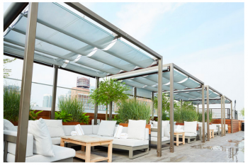 Infinity Canopy featured at The William Vale Hotel