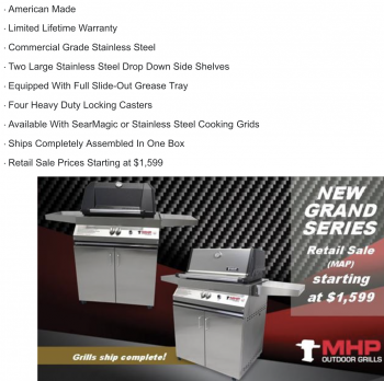 Modern Home Products Releases New Cart Models
