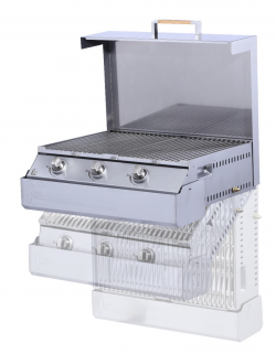 Space Grill from Glen Dimplex Americas Offers Space-Saving Design