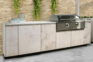 Brown Jordan Outdoor Kitchens Unveils TECNO Contemporary Outdoor Kitchen
