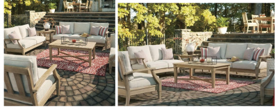 Clare View Outdoor Furniture Offers Weather Protection