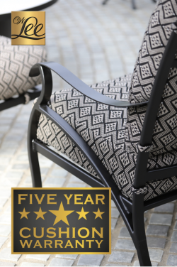 OW Lee to Offer Five Year Warranty on Cushions