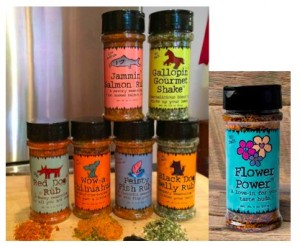 Mom's Gourmet Introduces Jammin' Salmon and Flower Power to Artisan Seasoning and Spices