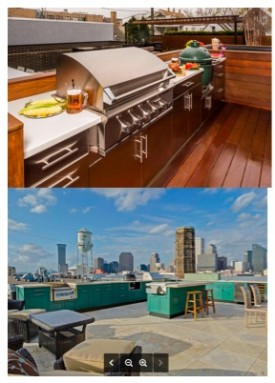 Rooftop Outdoor Kitchens in Urban Spaces