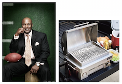The Bo Jackson Signature Portable Gas Grill by Coyote Outdoor