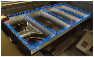 Caliber Crossflame® Burner and Radiant System Receives Utility Patent and Trademark