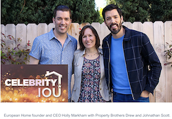 HGTV and Celebrity IOU Work With European Home