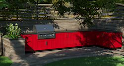 Danver, Brown Jordan Outdoor Kitchens and Trex Outdoor Kitchens Introduce New Cabinetry Colorways