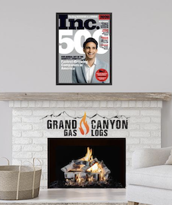 Grand Canyon Gas Logs Celebrates 2nd Year of Inclusion in the Inc 5000