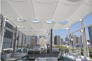 Infinity Canopy Featured in Lower Manhattan