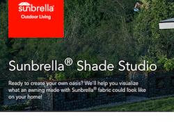 Sunbrella Shade Studio Tool Simplifies Awning Design