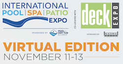 Leaders in The Pool, Spa, Patio, Decking, And Outdoor Living Industries Will Reunite Via a Virtual Event